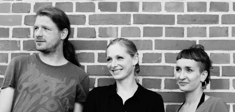 Mitglieder von Bühnenzauber - Karl Eckart Stephan, Monique Heße und Carolin Senftleben v.l.n.r.