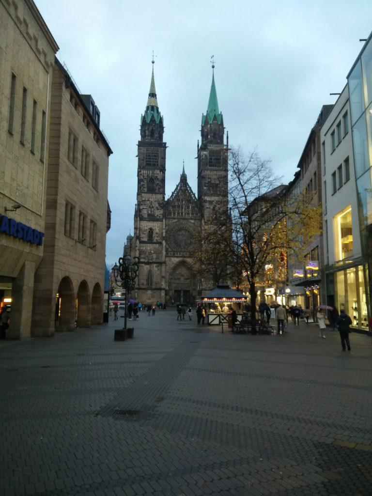 Kirche St. Lorenz in der Nürnberger Innenstadt