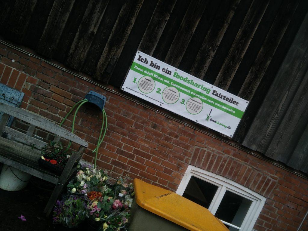 Foto des Foodsharing-Fairteilers im Lebensgarten Steyerberg