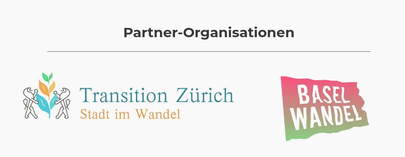 Logos von Transition Zürich und BaselWandel