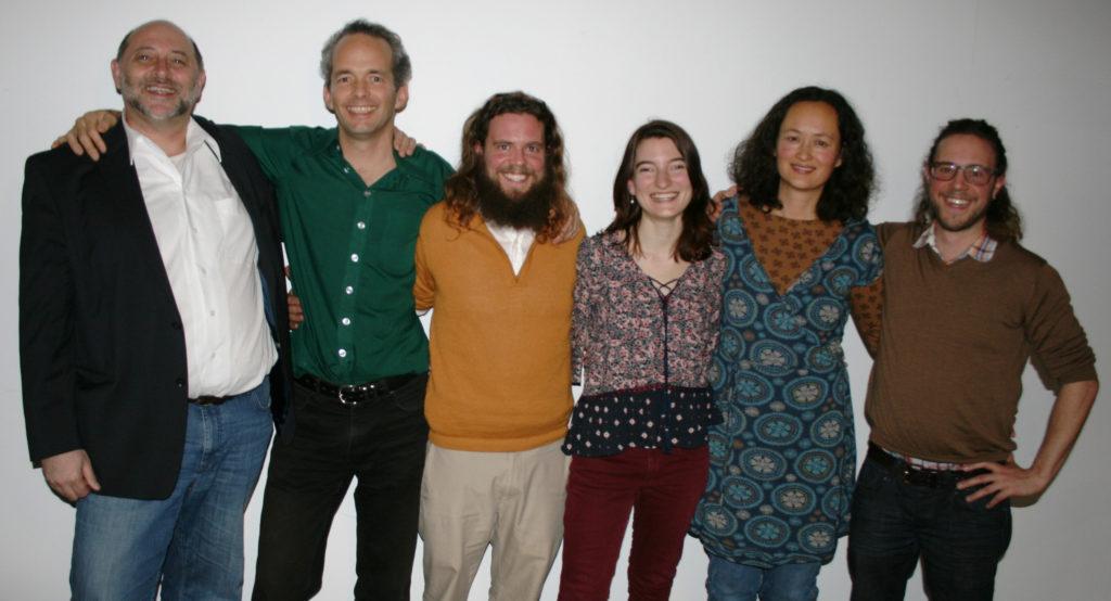 Foto von sechs Menschen die im Vorstand von Wandel.jetzt aktiv sind